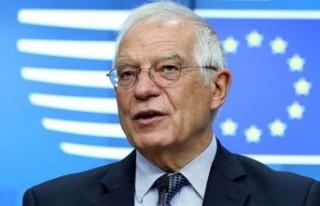 """Borrell: """"Türkiye ile ilişkilerimizdeki olumsuz..."""
