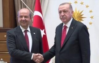 Erdoğan Tatar ile telefon görüşmesi gerçekleştirdi