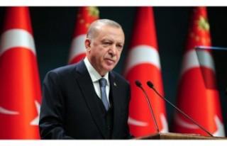 Kıbrıs Türkleri'nin hakkını savunma kararlılığındayız