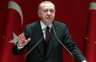 """Erdoğan : """"Bundan sonra olacakların sorumlusu..."""