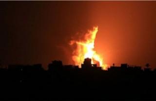 İsrail, Gazze'de hamas'a ait bir gözetleme...