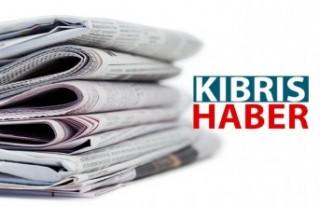 KKTC Gazetelerinin Manşetleri / 13 Ağustos 2020