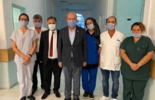 Tatar, Hastaların bayramını kutladı