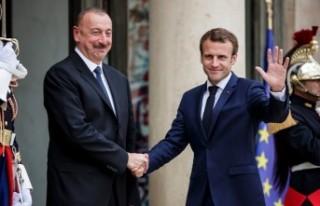 Aliyev ve Macron Azerbaycan-Ermenistan arasındaki...