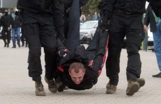 Belarus'ta Lukaşenko karşıtı protestolar 7....