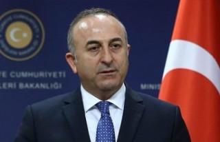 """Çavuşoğlu: """"hakça paylaşım için ortak..."""