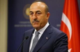 Dışişleri Bakanı Çavuşoğlu: Yunanistan bir...