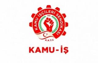 KAMU-İŞ'ten taşeron çalışanlarına çağrı