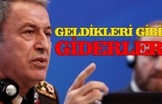 Milli Savunma Bakanı Hulusi Akar'dan Doğu Akdeniz'de...
