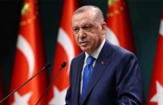 Tc. Cumhurbaşkanı Erdoğan kabine toplantısı'nın...