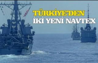 Türkiye'den Doğu Akdeniz'de 2 yeni Navtex...