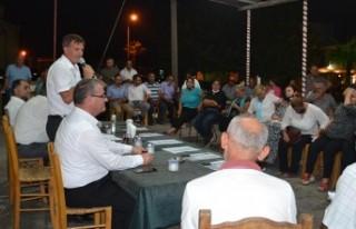 YDP, Dipkarpaz ve Sipahi'yi ziyaret etti