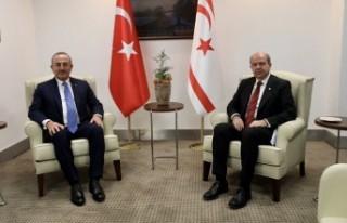 Cumhurbaşkanı Tatar, Türkiye Dışişleri Bakanı...