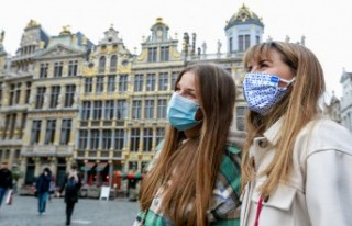 Avrupa'da korona virüs salgınında toplam vaka...
