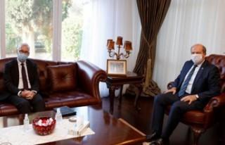 TATAR, ALMAN BÜYÜKELÇİ KREMP'İ KABUL ETTİ