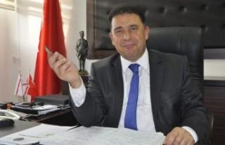 UBP GENEL BAŞKAN VEKİLİ SANER KTÖS GENEL SEKRETERİ...