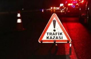 GAZİMAĞUSA'DA 65 YAŞINDAKİ BURUK, MOTOSİKLETİNİN...