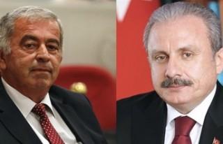 TBMM BAŞKANI ŞENTOP, CUMHURİYET MECLİSİ BAŞKANLIĞINA...