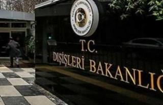 """TC DIŞİŞLERİ BAKANLIĞI: """"DENKTAŞ, KALPLERİMİZDEKİ..."""