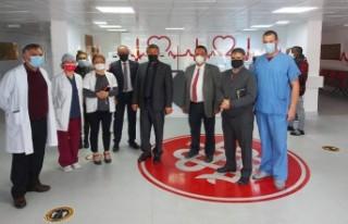 Bakan Üstel Dr. Burhan Nalbantoğlu Hastanesi'ni...