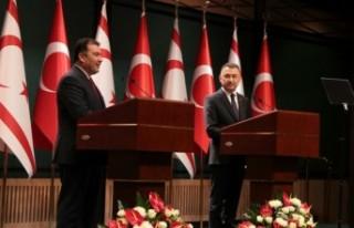 """BAŞBAKAN SANER: """"5+BM TOPLANTISINDA, TÜRKİYE..."""