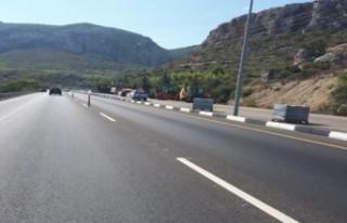 Girne-Lefkoşa Yolu ağır vasıtalar açısından...