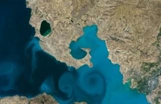 NASA'nın yarışmasında Van Gölü fotoğrafı...