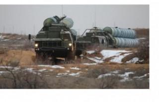 S-400 füzeleri 700 kilometre uzaklıktaki hedefi...