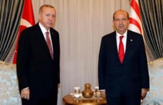 Tatar, Erdoğan'ı telefonla arayarak tebriklerini...