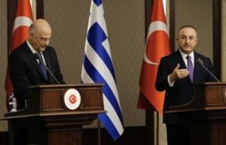 """Çavuşoğlu: """"Türkiye kendi haklarını ve..."""