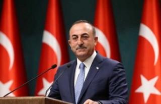 """Çavuşoğlu, Yunan Bakan'a sert çıktı: """"İfadeni..."""