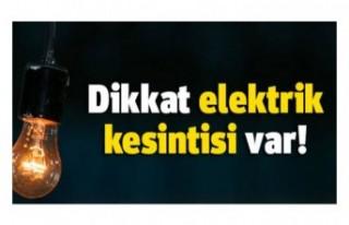 CENGİZKÖY KIRSAL KESİM ARSALARI'NA YARIN ELEKTRİK...