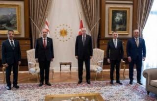 """Cumhurbaşkanı Tatar: """"Görüşmeler, devletten..."""