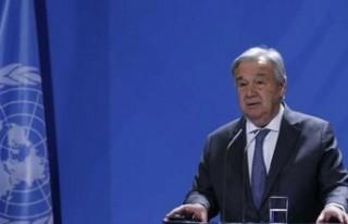 """Guterres: """"2-3 Ay içinde yeni bir görüşme..."""