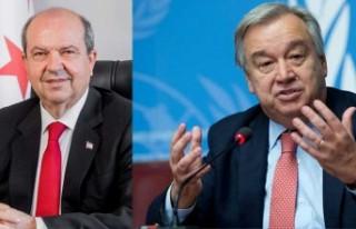 Guterres-Tatar görüşmesi yapılıyor