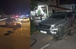 İki kazaya neden olup olay yerinden kaçmıştı,...
