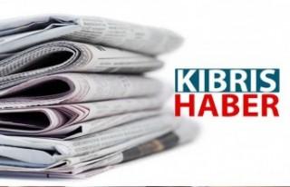 Kıbrıs Gazete Manşetleri/22 Nisan 2021