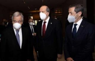 Kıbrıs Konferansı İkinci Gününde Cenevre'de...