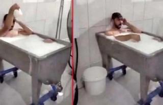 Süt kazanında banyo yapan 2 işçi, 15 yıl hapis...
