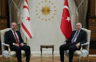 Tatar, Erdoğan ile görüştü
