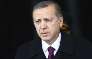 TC. Cumhurbaşkanı Erdoğan'dan uçak kazası...