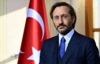 TC Cumhurbaşkanlığı İletişim Başkanı Altun'dan,Anayasa...