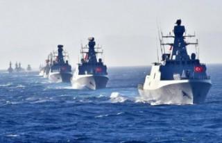 """""""Türk donanması, Doğu Akdeniz'deki en güçlü..."""