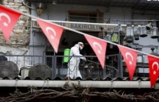 Türkiye'de 61 bin 400 yeni vaka saptandı