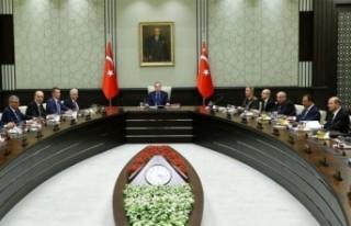Türkiye Milli Güvenlik Kurulu'nda Alınan Kararlar...