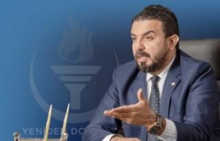 """Zaroğlu """"YDP, kimsenin babasının partisi değil""""..."""