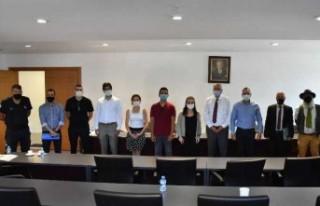 Girne Belediyesi Gençlik Platformu paydaşları bir...
