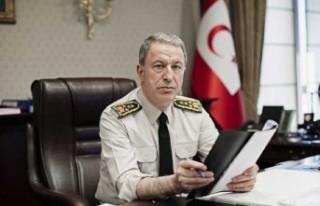 TC Milli Savunma Bakanı Akar: Kıbrıs'ta iki devletli...