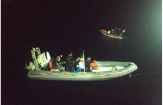 10 mülteci balıkçı teknesiyle KKTC'ye geldi