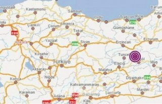 Bingöl'de 5,2 büyüklüğünde deprem meydana...